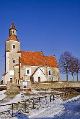 Kościół z XVI wieku w Miłakowie