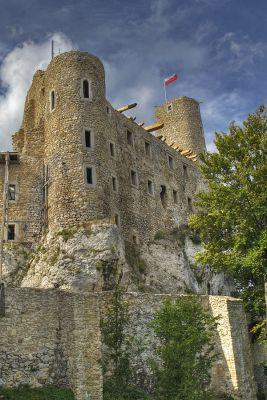 Zamek Bobolice we wrzesniu 2008