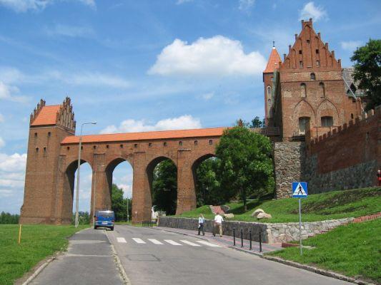 Gdanisko - wieża sanitarna zamku biskupiego w Kwidzynie