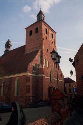Grudziądz, kościół św. Mikołaja