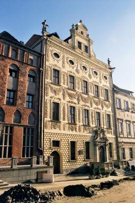 Pałac Dąmbskich (biskupów kujawskich) w Toruniu