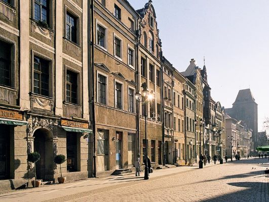 Toruń, Ratusz Staromiejski od strony wschodniej