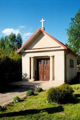 Turzno - klasycystyczna kaplica z ok. 1800 r.