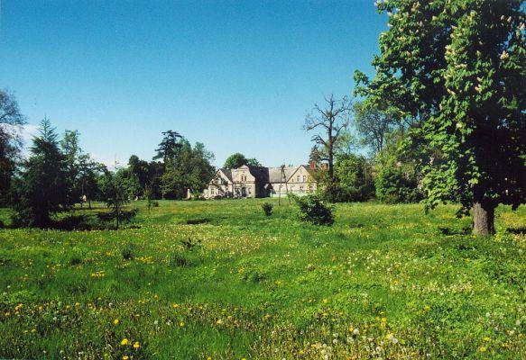 Turzno - pałac od strony ogrodu