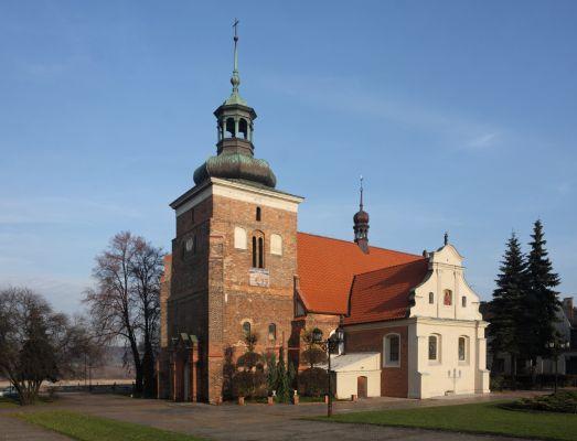 Włocławek, późnogotycki kościół farny pw. św. Jana Chrzciciela