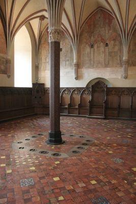 Zamek krzyżacki w Malborku - kapitularz