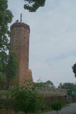 Wieża zamkowa w Człuchowie