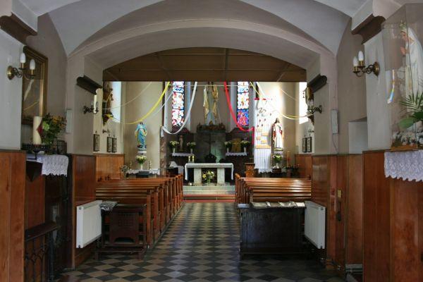 Kościół św. Małgorzaty w Bytomiu - wnętrze.