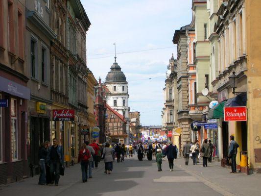 Deptak - ul.Królowej Jadwigi w Inowrocławiu