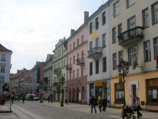 Fragment rynku w Kaliszu