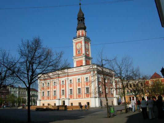 Ratusz w Lesznie