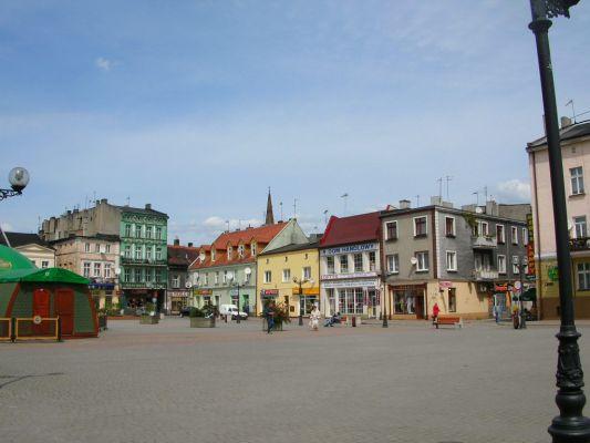 Rynek w Inowrocławiu