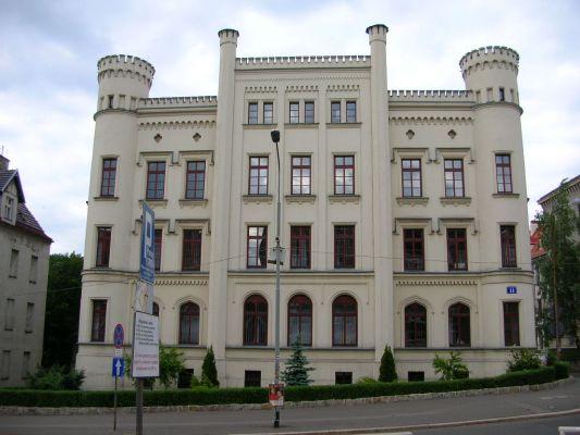 Wałbrzych - budynek Sądu Rejonowego