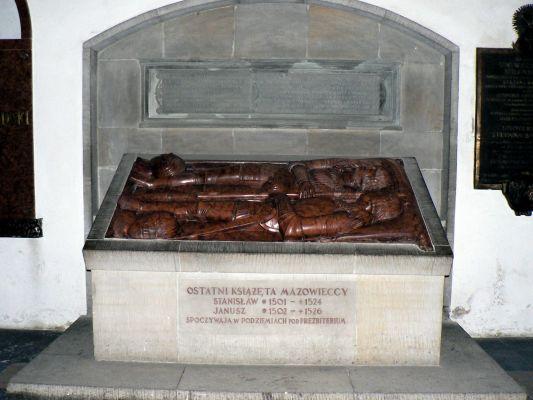 Krypta ostatnich książąt mazowieckich w katedrze św. Jana w Warszawie