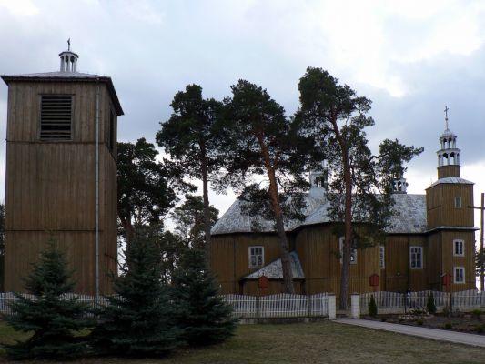 Stary kościół w Łysych