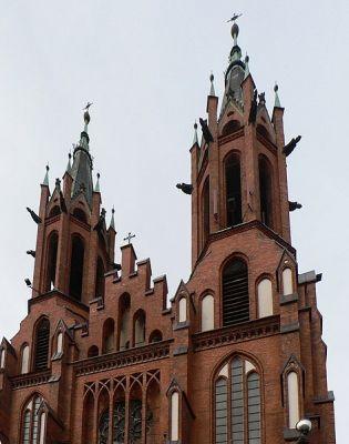 Wieże białostockiej katedry