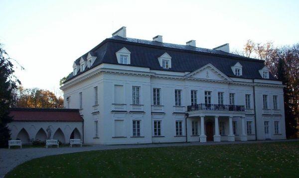 Pałac w Radziejowicach, strona pólnocno-wschodnia.