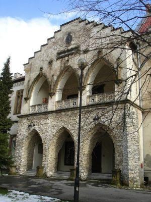 Pałac w Młoszowej. Loggia