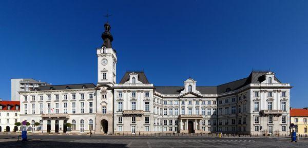 Pałac Jabłonowskich przy pl. Teatralnym w Warszawie