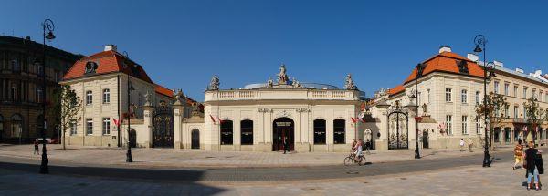 Pałac Potockich przy Krakowskim Przedmieściu w Warszawie