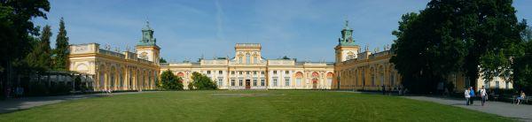 Pałac w Wilanowie - panorama