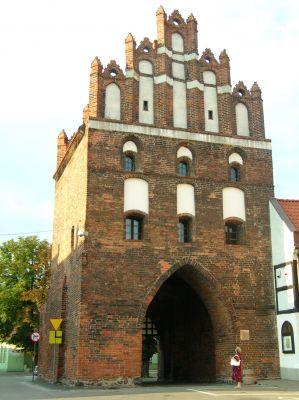 Brama Chełmińska (Kamienna) w Brodnicy