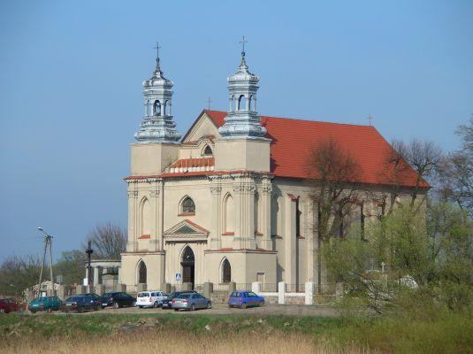 Kościół pw. św. Doroty we wsi Rogowo