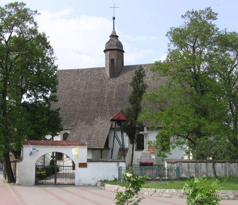 Kościół Znalezienia Krzyża Świętego w Godzikowicach
