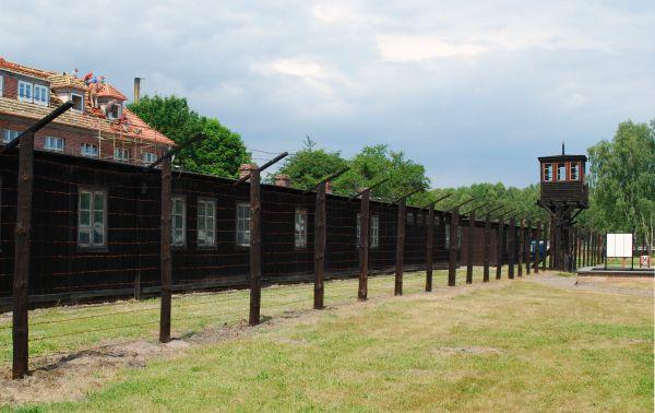 Barak administracyjno-karny w obozie KL Stutthof