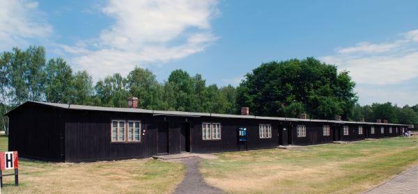 Barak kobiecy w obozie KL Stutthof