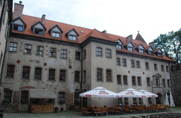Skrzydło hotelowe zamku w Bytowie