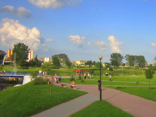Park w Zambrowie