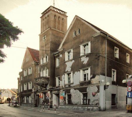 Budynek dawnego ratusza w Nowej Soli