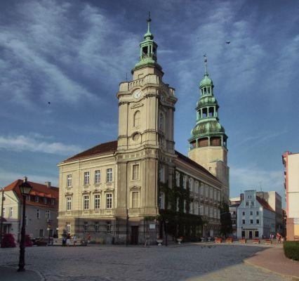 Rynek i Ratusz w Szprotawie