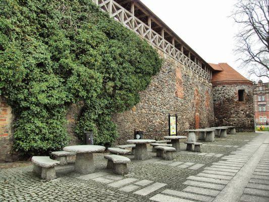 Żary - mury miejskie