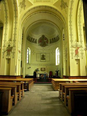Kościół św. Jakuba w Częstochowie - wnętrze