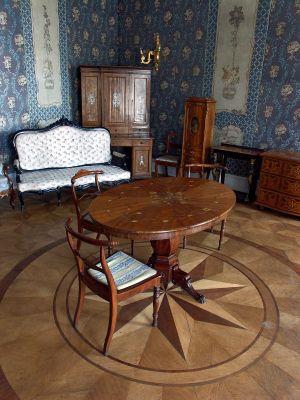 Salon błękitny - Zamek Książ