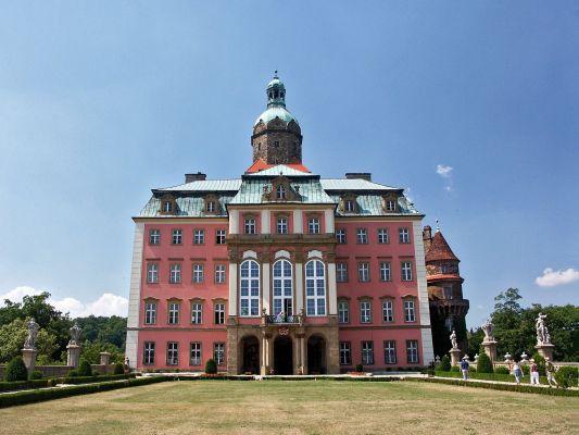 Zamek Książ - fasada wschodnia