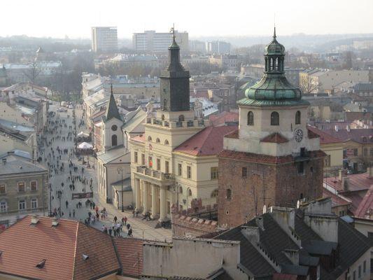 Lublin, Trzy wieże