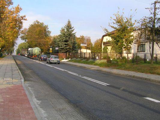 Wilkołaz – główna ulica
