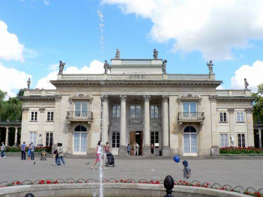 Pałac łazienkowski w Warszawie