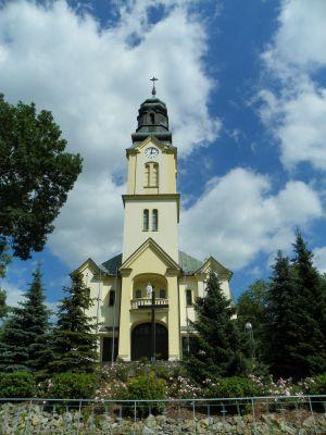 Świerklany Dolne, Kościół pw. św. Anny, widok od frontu