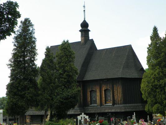 Bieruń Stary, Kościól drewniany, pw. św. Walentego, elewacja boczna