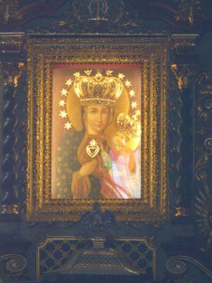 Pszów, Cudowny obraz Matki Boskiej Pszowskiej-Uśmiechniętej Pani