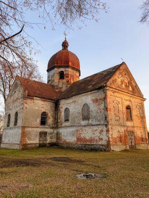 Oleszyce - Cerkiew św. Onufrego z 1809 roku.