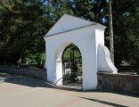 Ciechanowiec - Ogrodzenie z bramą