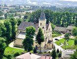 Widok na Klasztor oo. Karmelitów w Pilźnie