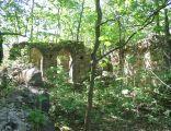 Garbno ruiny kosciola1
