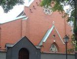 Oświęcim - Serafitki kościół i ogrodzenie AL01