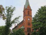 Środa Wielkopolska, kościół Najśw. Serca P. Jezusa, widok od pd-wsch (1)